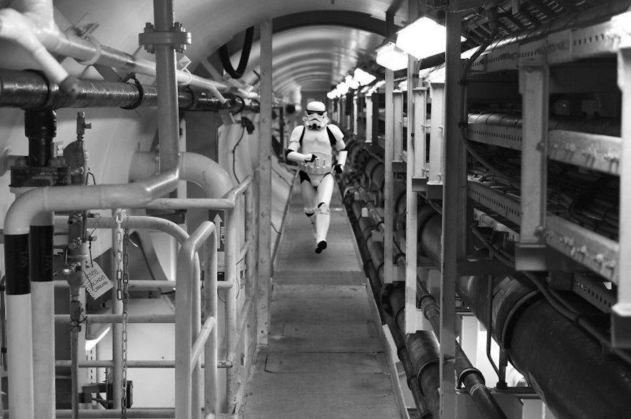 Star Wars Recreated at Offshore Drilling Rig (20 pics)