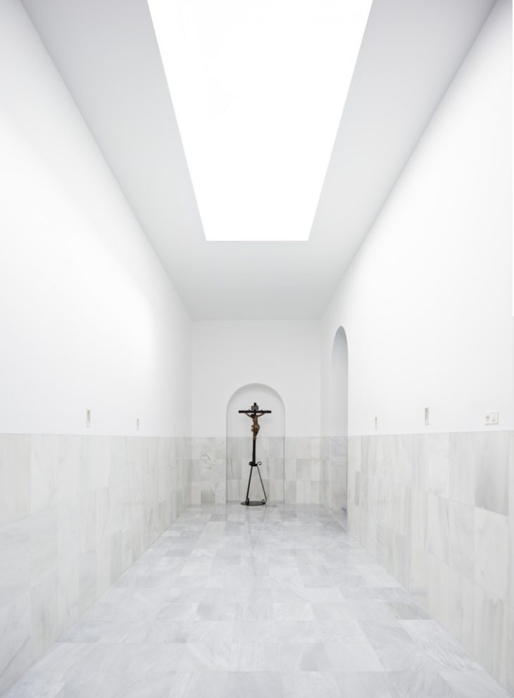 Blessed Sacrament Chapel by Pablo Millan