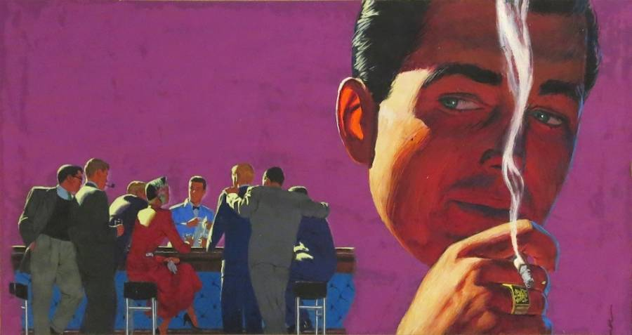 Vibrant Mad Men-Like Paintings