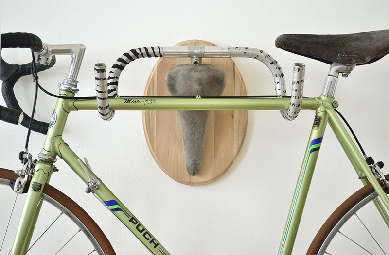 Hunting Trophies: Repurposed Vintage Bike Parts Converted into Functional Taxidermy Racks