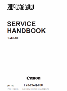 Инструкции (Service Manual, UM, PC) фирмы Canon - Страница 3 0_1b18b6_c421c2b3_orig