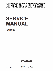 Инструкции (Service Manual, UM, PC) фирмы Canon - Страница 3 0_1b18c4_f498fd06_orig