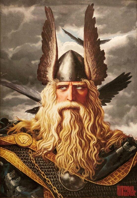 Вотан - верховный бог древних скандинавов, Константин Васильев