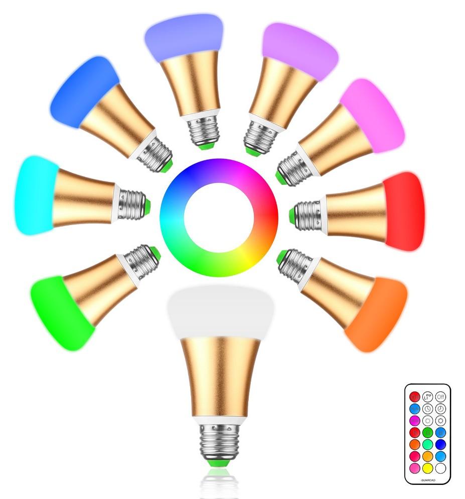 Светодиодная лампа с пультом