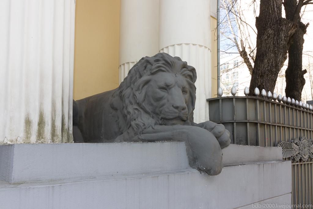 Усадьба В.Н.Грибова (Резиденция посла Бельгии)
