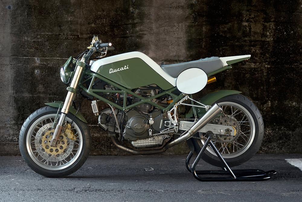 Speedtractor: кастом Ducati M900 Monster