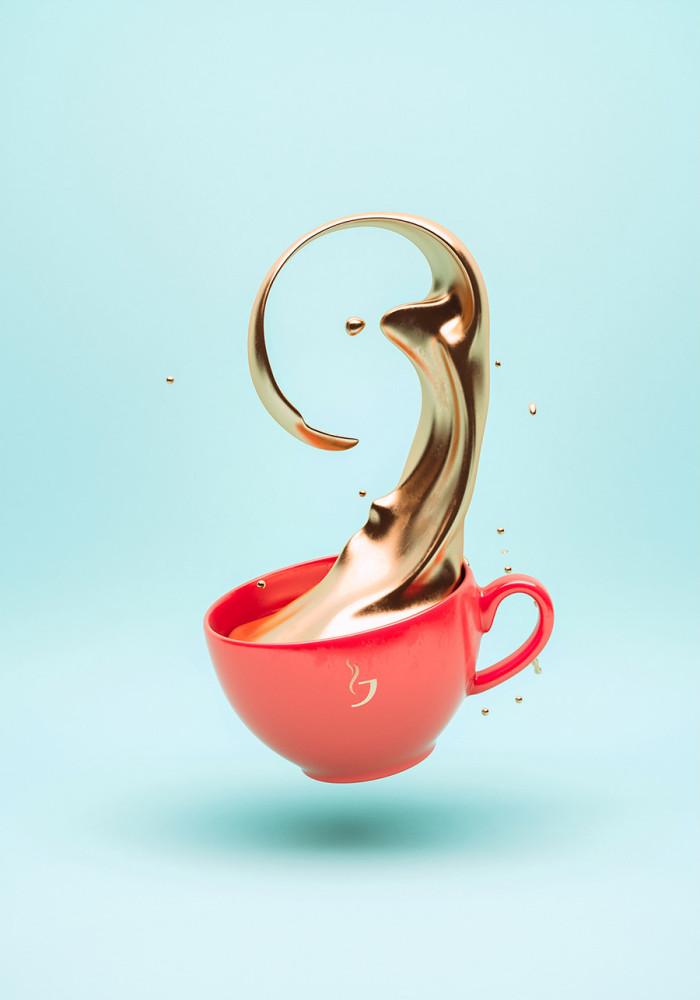 GoldRush: 3D Artworks by Crtomir Just