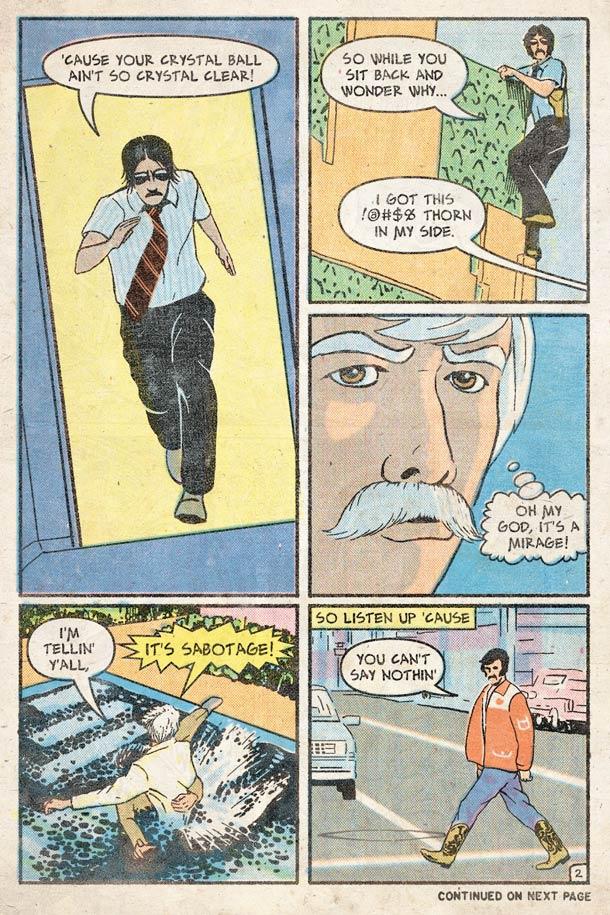 Sabotage - Le clip culte des Beastie Boys versions comic