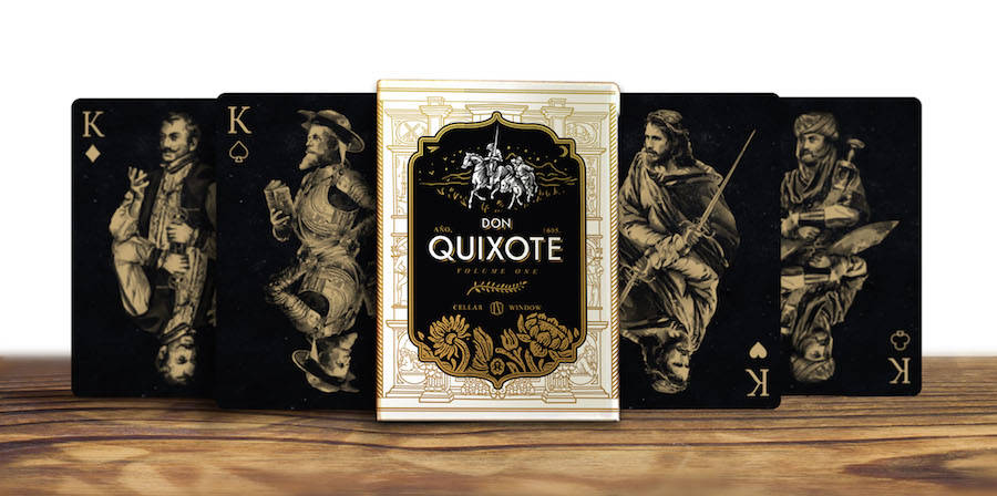 Nice Don Quixote Playing Cards