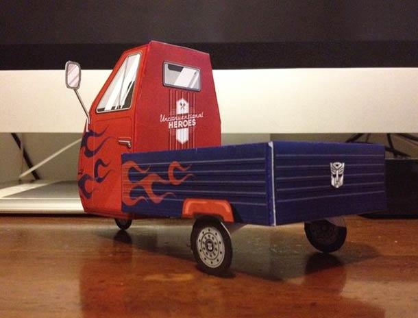 Vehicules cultes au quotidien - Unconventional Heroes