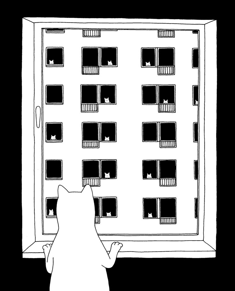 Mrzyk et Moriceau - Des illustrations minimalistes et tres decalees