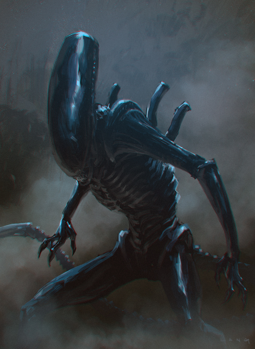 Alien(Franchise) Inspired Concept Art and Illustrations I