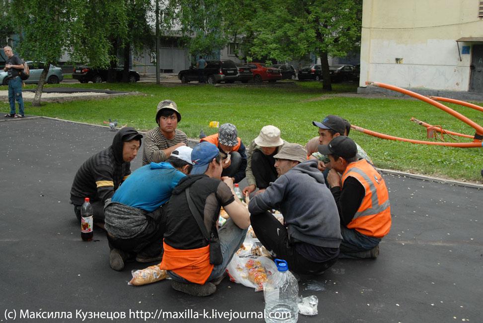 Рамадан в московском дворе