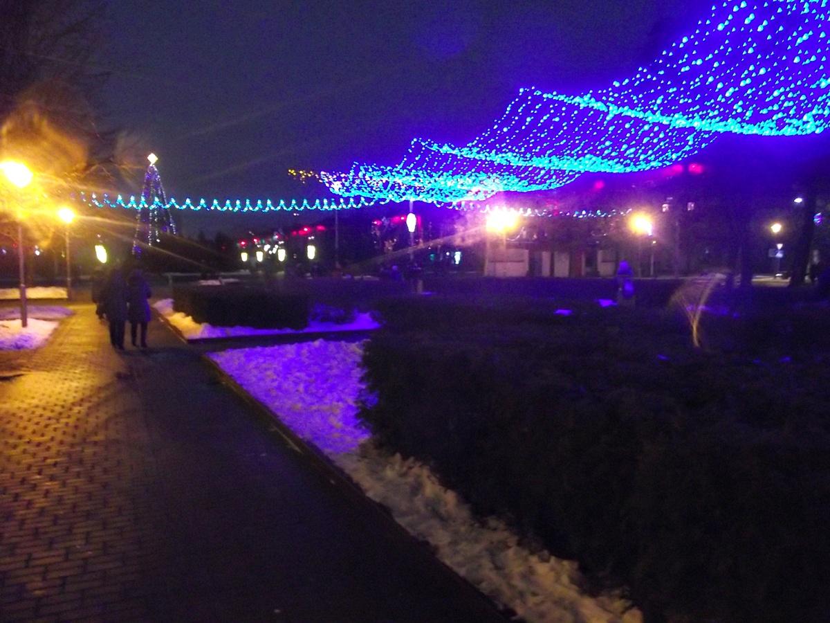 Новый год в Бобруйске
