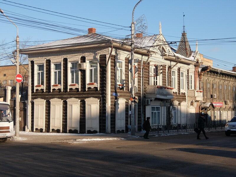 Красноярск - Старый дом на Ленина 88
