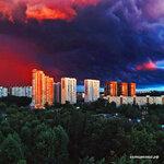 Грозовые облака над районом Солнцево Подписаться https://www.instagram.com/p/BWozktHFJ1P/Фото из группы вк Москва | Moscow Live#solntsevo #солнцево #солнцевский #радужный