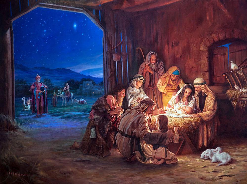 Протестантские открытки с рождеством, королев днем