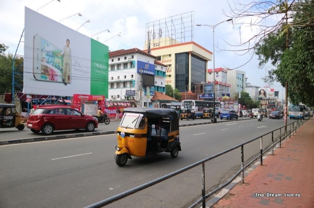 Центральная улица Тривандрама