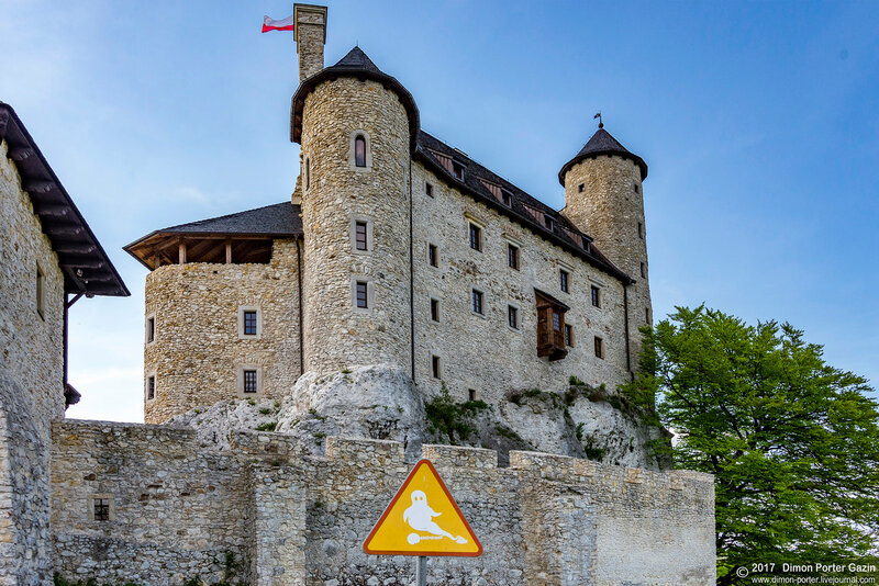 Боболице. Боболицкий замок