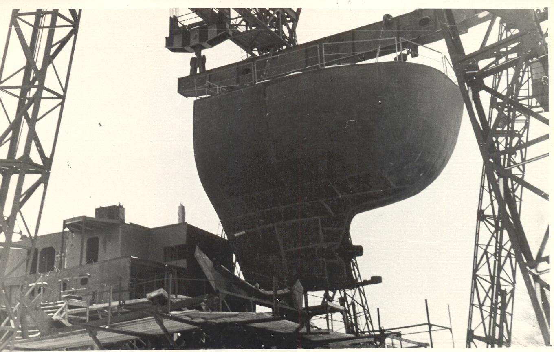 Закладка рыбопромыслового судна