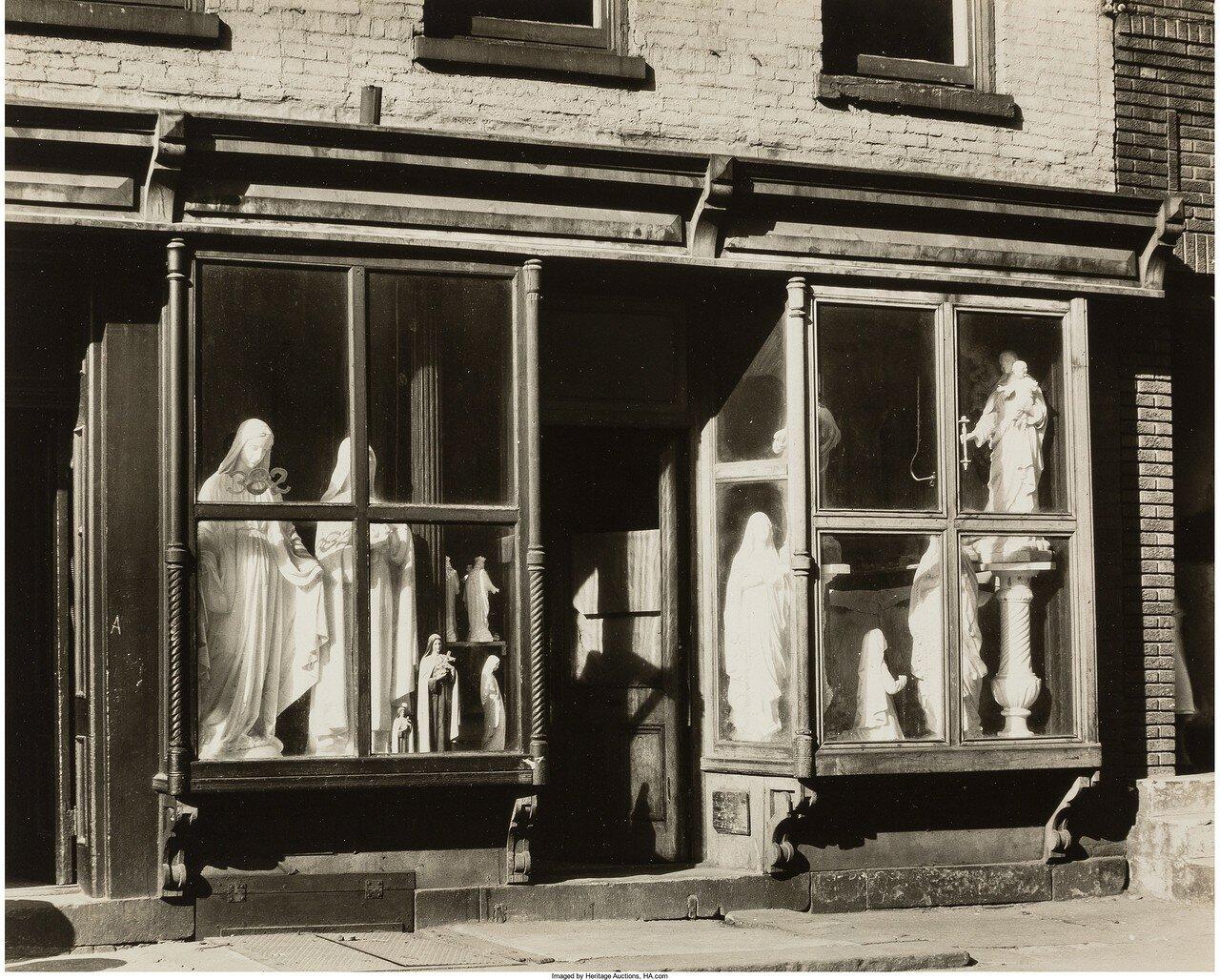 1930. Магазин скульптур,Уотер-стрит