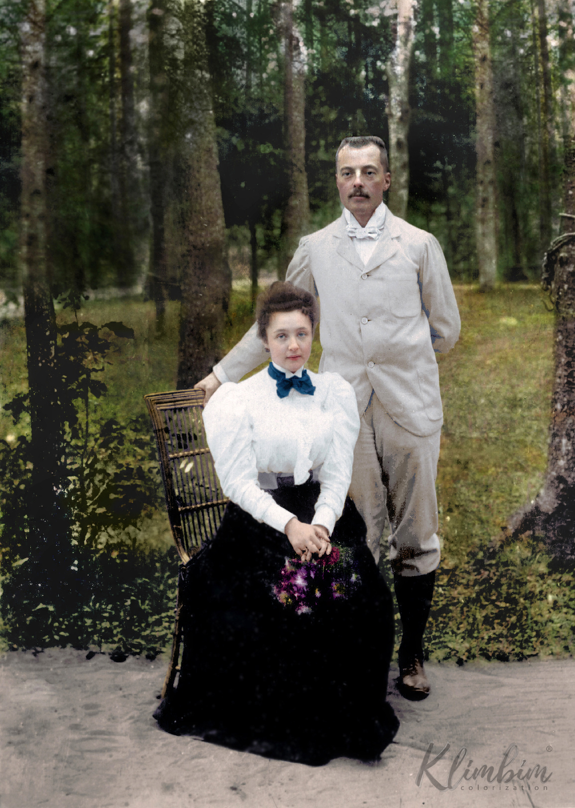 Владимир и Елена Набоковы