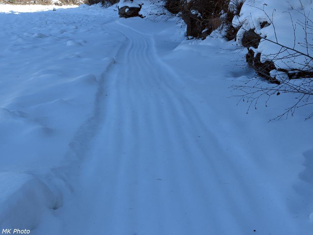 Снова - снегоходка!