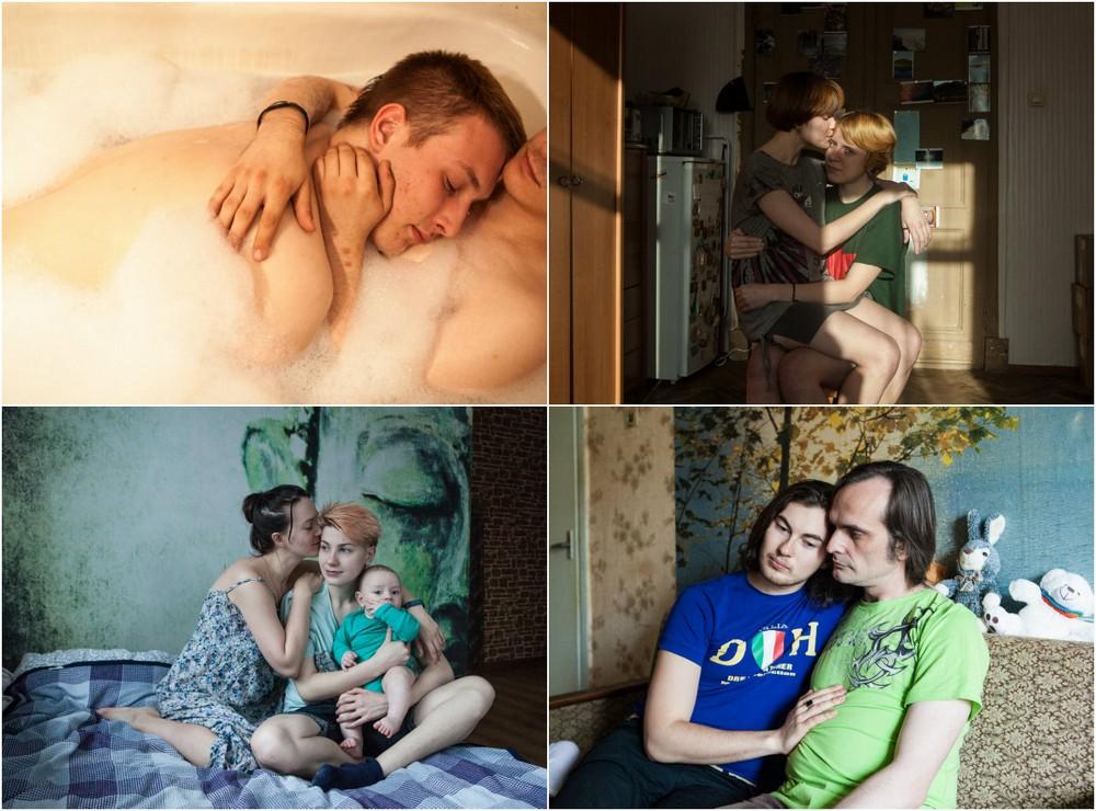 Гомосексуальные пары в проекте Анны Милокумовой
