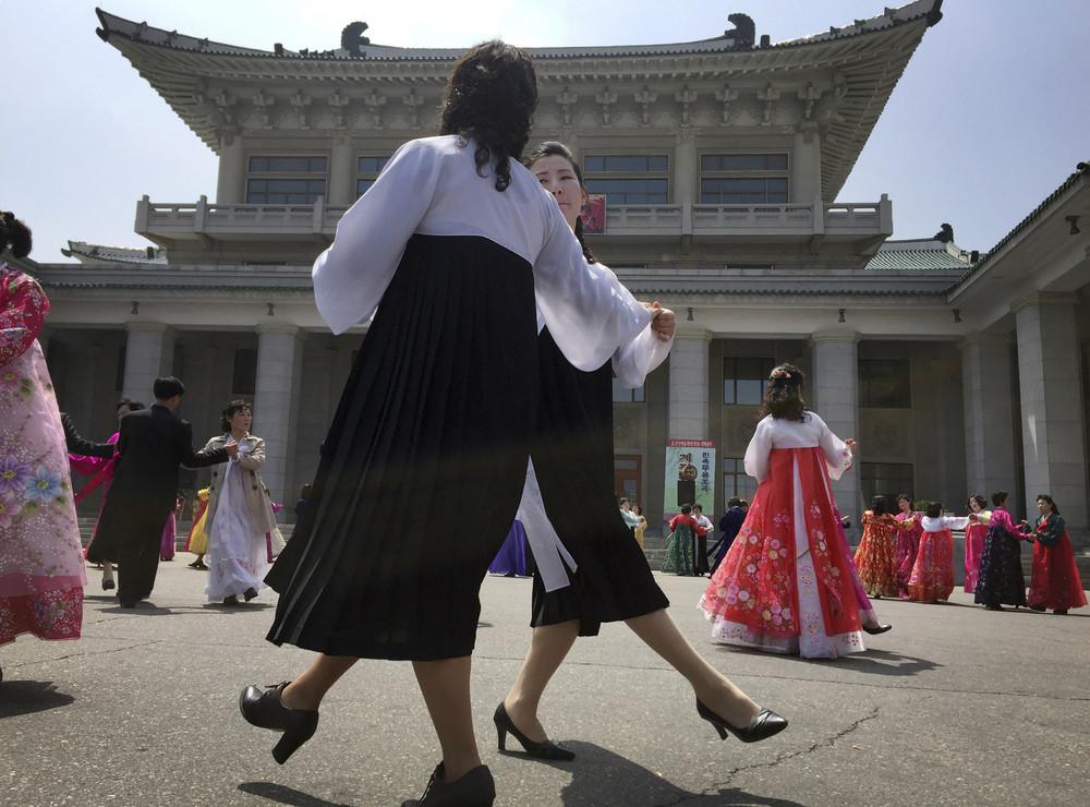 Фото жизни людей в Пхеньяне