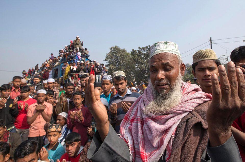Час пик в Бангладеш