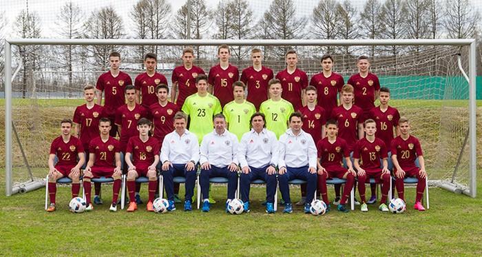 Юношеская сборная России U-16. Второе место на турнире в Израиле.