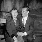 Edith Piaf et Eddie Constantin