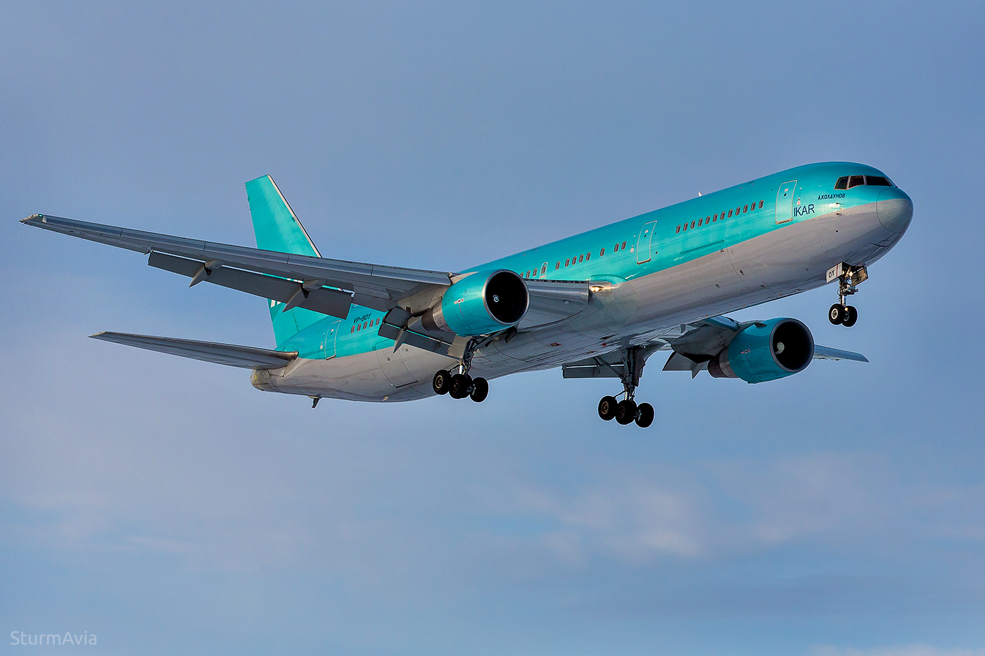 Boeing 767-300ER VP-BOY Pegas Fly - ИКАР