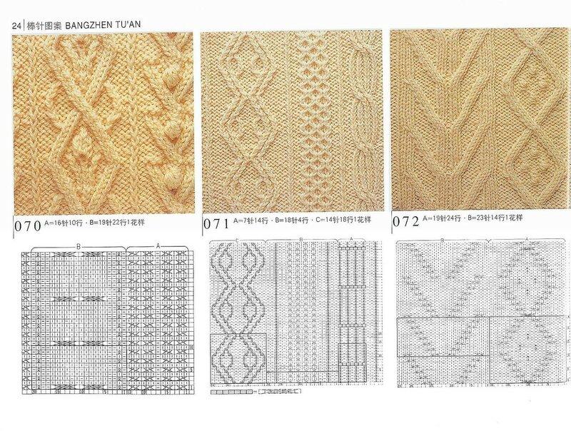 500 узоров вязания спицами