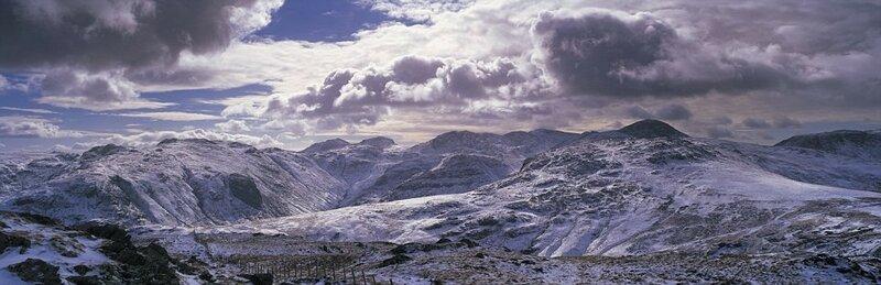 Великобритания. Пейзажные панорамные снимки