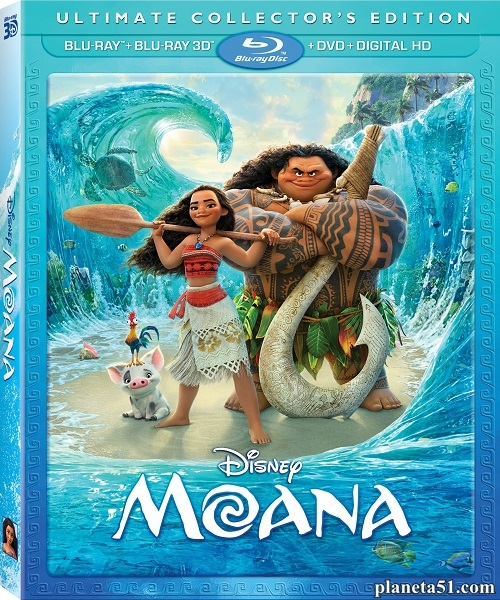 Моана / Moana (2016/BDRemux/BDRip/HDRip/3D)
