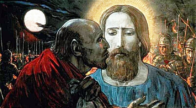 judas-kisses-jesus-4-ari-mchenry-and-jabari-mchenry.jpg