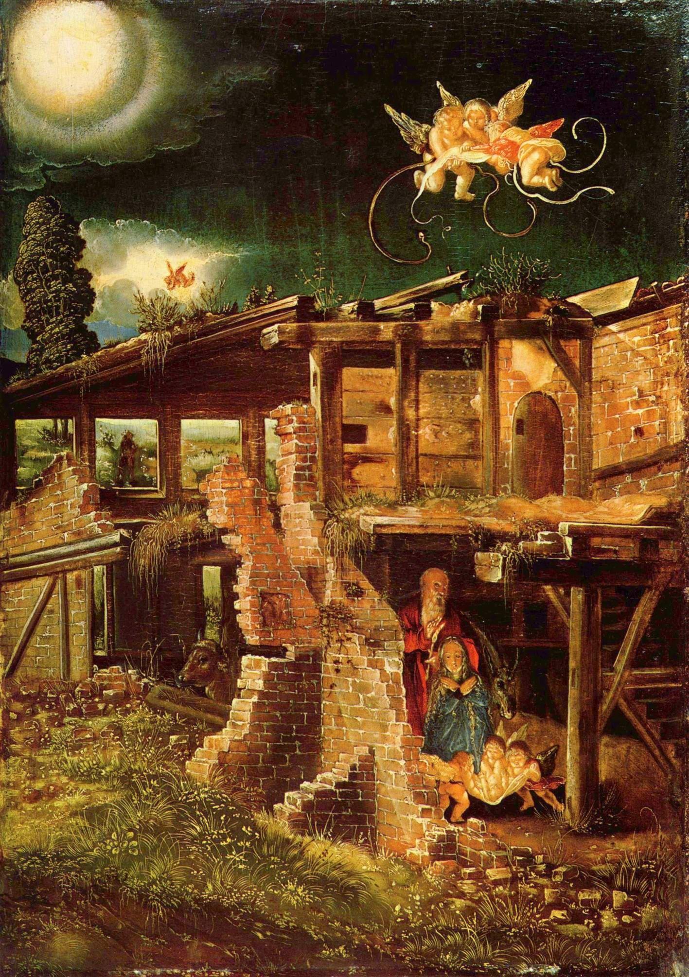 Альбрехт АльтдорферСвятая ночь (Рождество Христово).jpg
