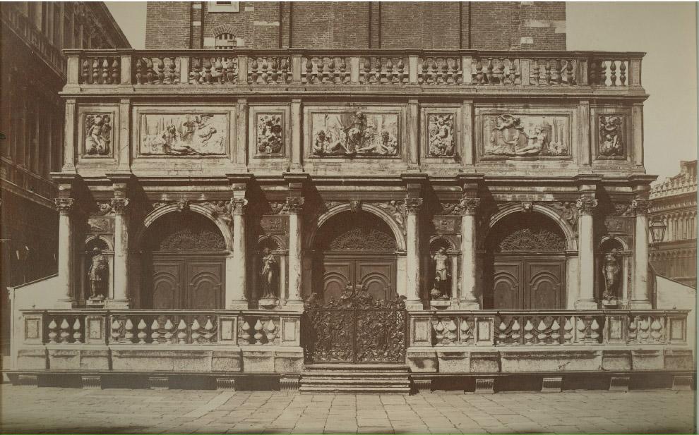19. Лестница Гигантов во Дворце Дожей, 1875 год.