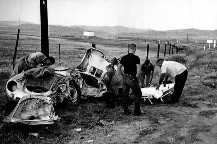 Первый владелец этой машины был известный телевизионный ведущий Виллет Браун. Возможно Порше оказалс
