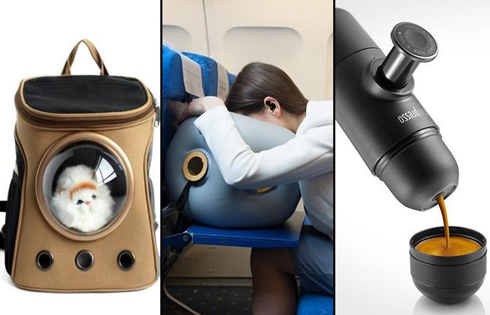10 оригинальных вещей и устройств, которые сделают путешествие комфортным (11 фото)