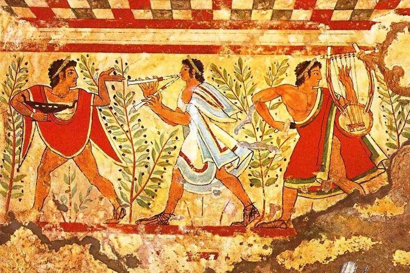 10. Этруски Древний народ этрусков неожиданно возник в человеческой истории, но также внезапно в ней
