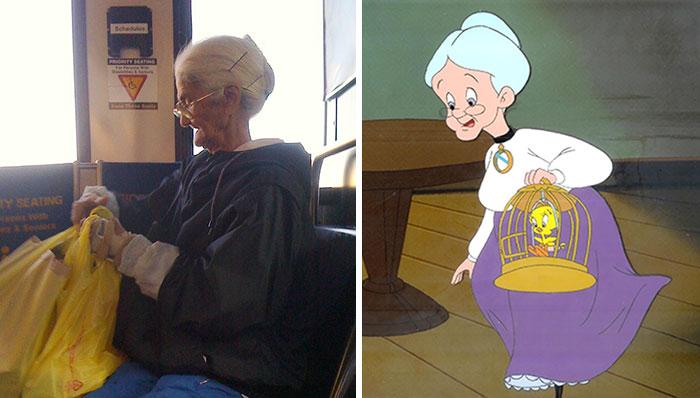 Бабушка из «Твити».