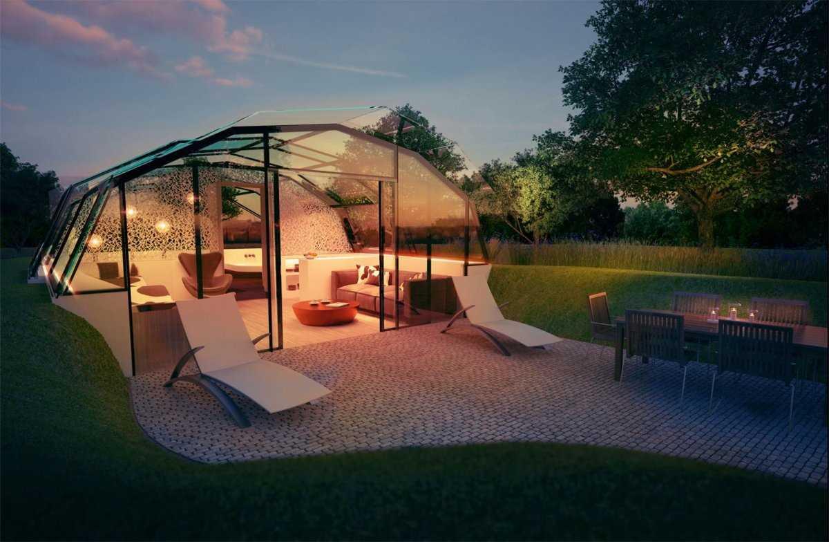 3. Лондонская команда архитекторов и ученых, создавшая проект, обещает, что дом может быть построен