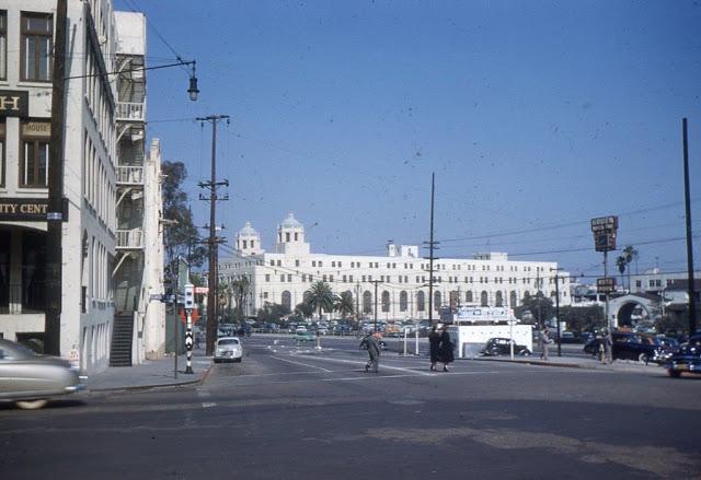 Бульвар Сансет, 1949 год.