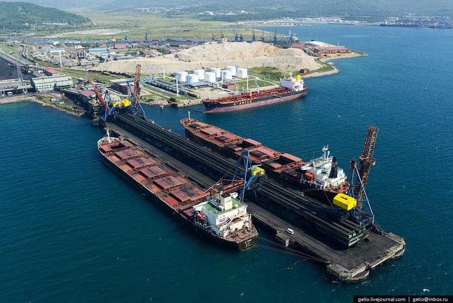 Пропускная способность ОАО «Восточный порт» превышает 17 млн.тонн в год.