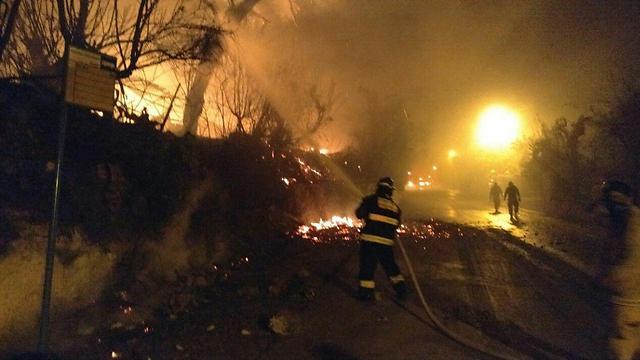 Напомощь Израилю направлена пожарная авиация изразных стран