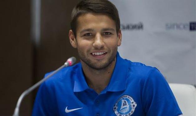 «Днепр» объявил орасставании ссемерыми футболистами