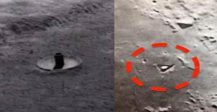 Уфологи обнаружили наЛуне базу пришельцев