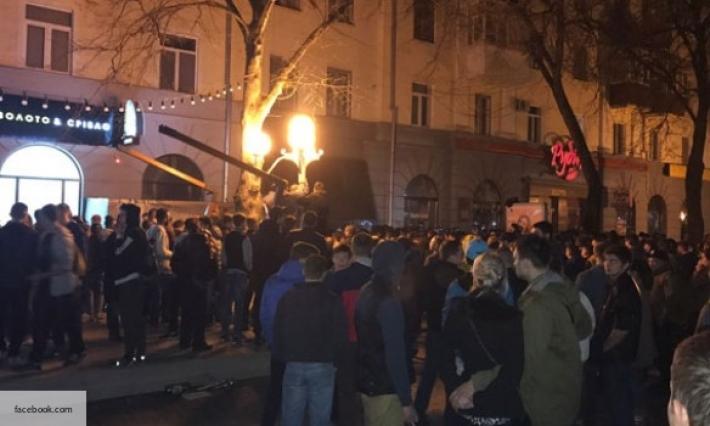 300 человек вПолтаве добивались отставки руководства областной милиции
